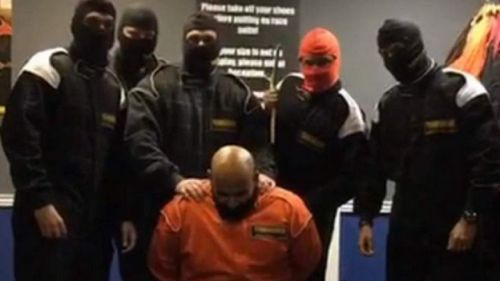 Six staff from HSBC were fired after a video appeared online showing them taking part in a mock Islamic State style killing