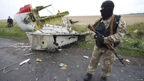 Pro-Russian rebels control the area where the MH17 crashed