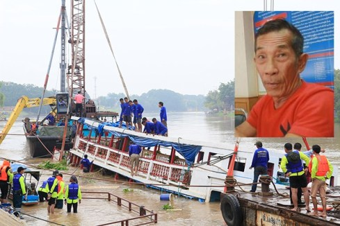 Ayutthaya River Boat Death Toll Climbs to 27, Helmsman Charged with Recklessness Causing Deaths