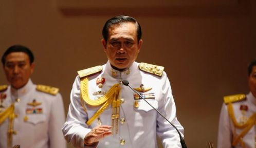 "Gen. Prayuth Chan-ocha said that because ""a news agency has a branch in Thailand staffed with Thai reporters, if they violate Thai laws, they have to be prosecuted"