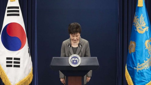 South Korea's Constitutional Court Upholds President Parks Impeachment