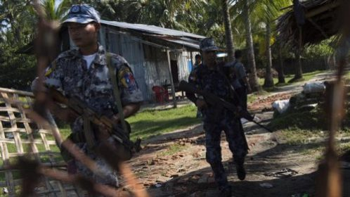 U.N. High Commissioner for Human Rights Say's Myanmar Army Conducting a Textbook Example of Ethnic Cleansing