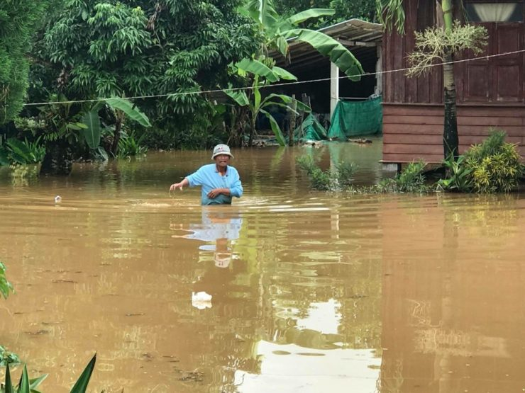 23 Sub-Districts and 76 Villages Hit by Flooding in Chiang Rai