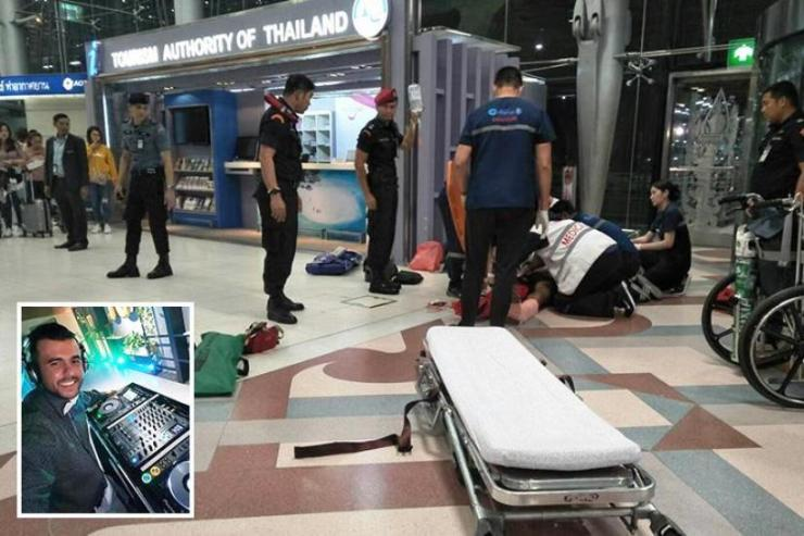 Brazilian Tourist Injured after Falling from Third Floor at Bangkok's Suvarnabhumi Airport