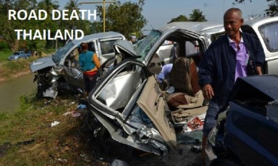 Thailand Ranks Third in the World's for Highest Road Fatalities
