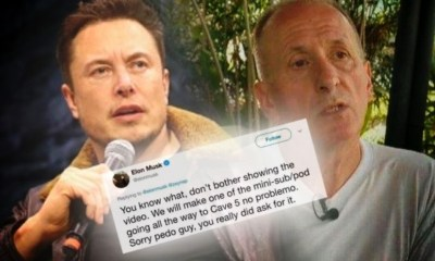 Elon Musk Hired Detective to Probe Cave Rescuers Background