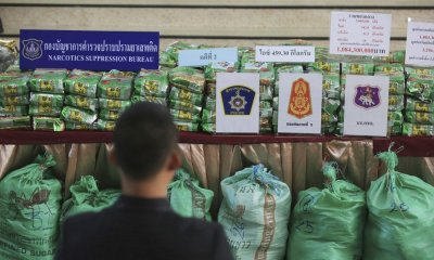 Authorities in Chiang Rai Seize Huge Cache of Drugs in Mae Sai