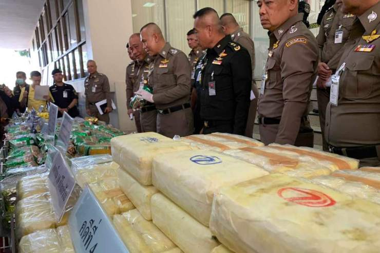 """Police Seize Over a Ton of Crystal Meth """"ICE"""" in Raids Across Thailand"""