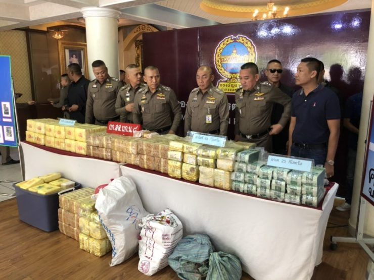 26 Year-Old Woman Busted in Bangkok with 83 Kilos of Crystal Meth