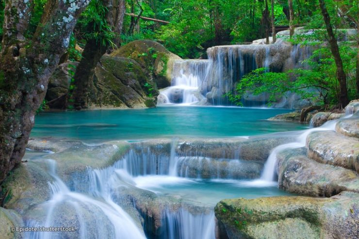 Erawan National Park Waterfall Closed After Tourists Injured
