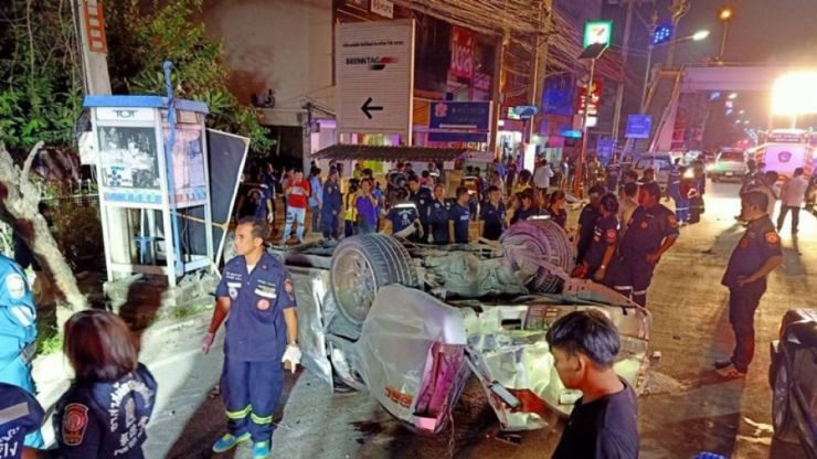 13 Students Killed in Horrific Accident in Northeastern Thailand