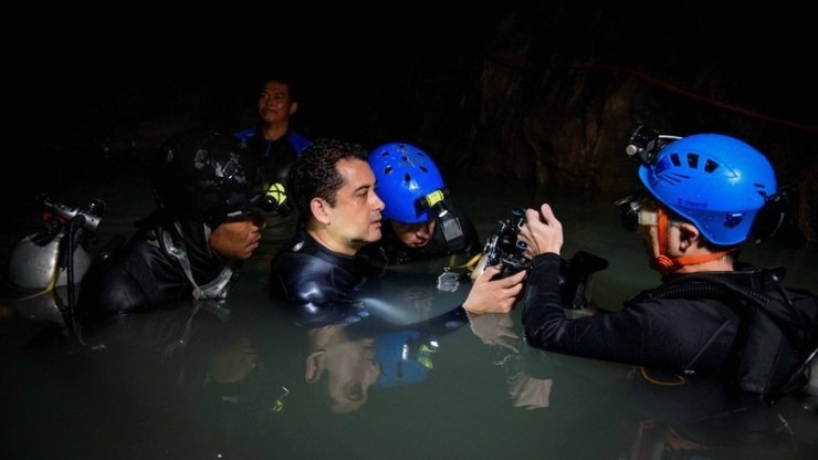 """Chiang Rai Rescue Move """"The Cave, Nang Non"""" Hits Theaters Nationwide"""