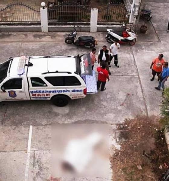 Iranian falls to his death in Pattaya