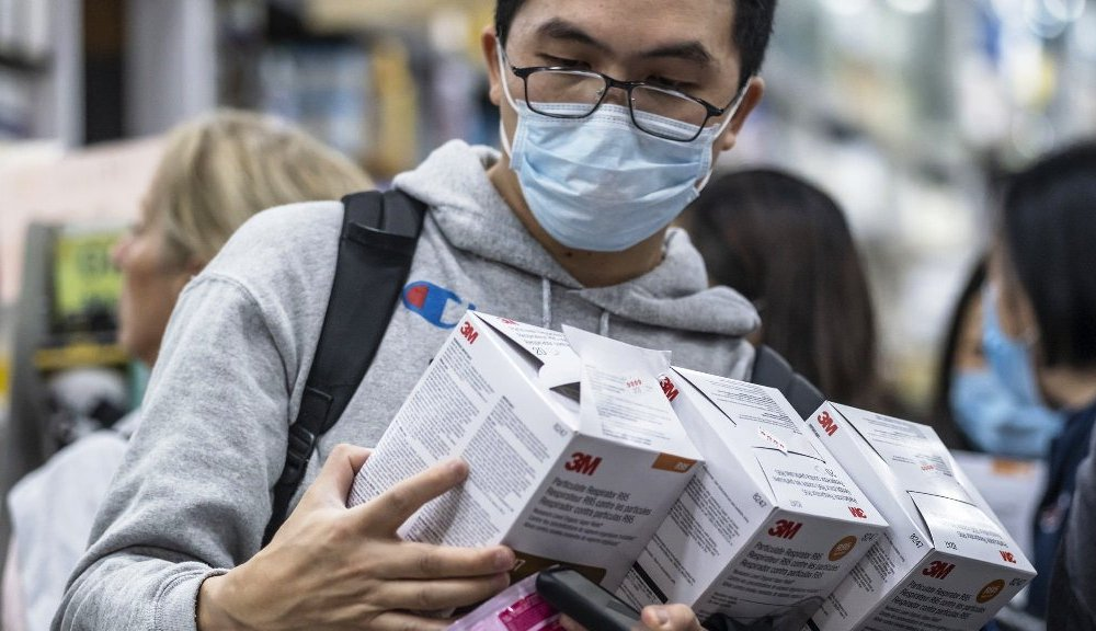 Masks Face Chinese Threat To Buy Coronavirus Race Increases As