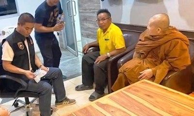 Thai monk bomb scare