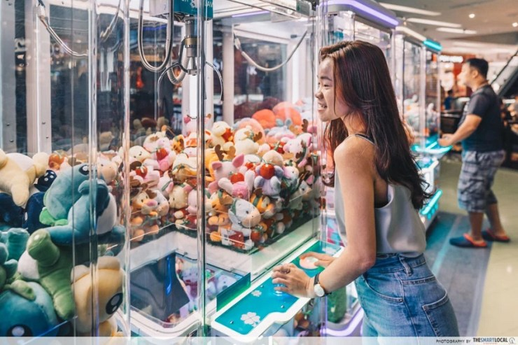 ban on 'claw crane' machines nationwide