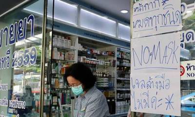 Shortages ,face masks, Thailand, sold out