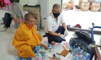 Thai Monk Hand Gun