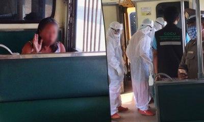 fever passenger train covid-19