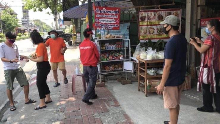 Community Pantries donors thailand