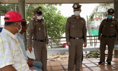 Policemen, extrotion, Shellfish Trader, Extortion, Thailand