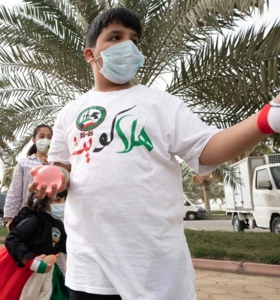 Kuwait and Qatar face masks, coronavirus cases