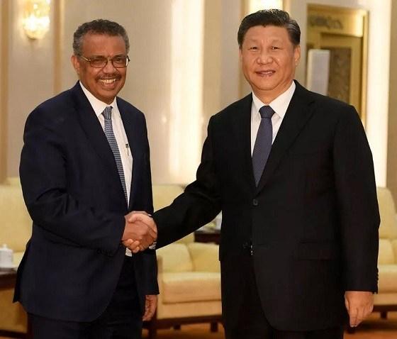 WHO,China, Xi Jinping , Covid19