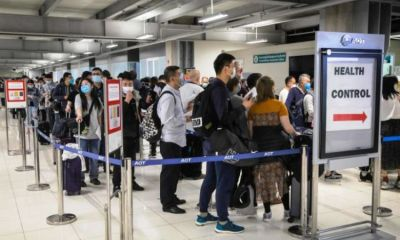 foreigners, thailand, quarantine, entering thailand