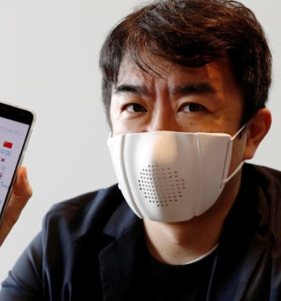 Donut Robotics, smart mask, coronavirus