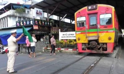 rail travel, schools, thailand