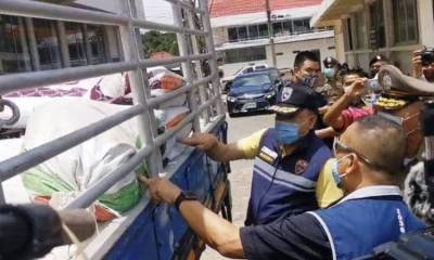 Police, Thailand, Drugs