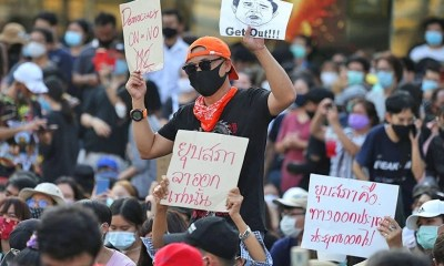 Thailand, Students,Protests