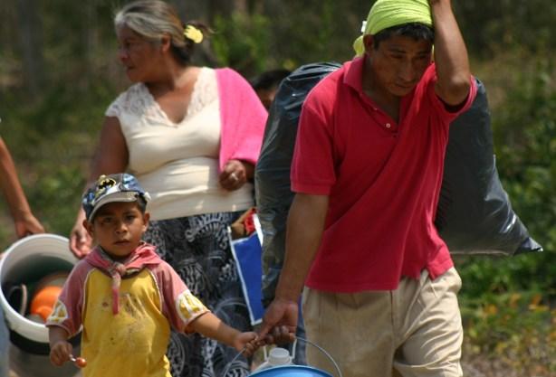 Miles de afectados por el desplazamiento forzado en Chiapas carecen de condiciones para su retorno. Foto: Ángeles Mariscal/ChiapasPARALELO