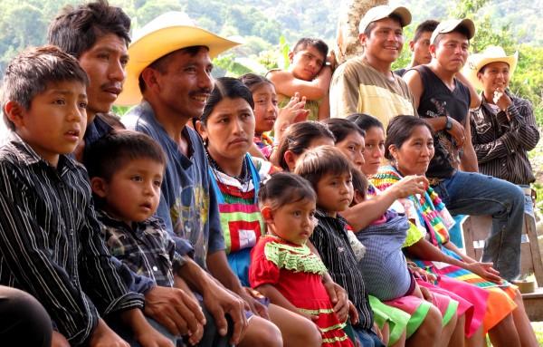 Habitantes de Chiapas han asumido la defensa de sus derechos a la tierra y al desarrollo. Foto: Ángeles Mariscal/ChiapasPARALELO