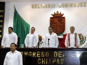 Juan Sabines formó su propia bancada en el Congreso Local.