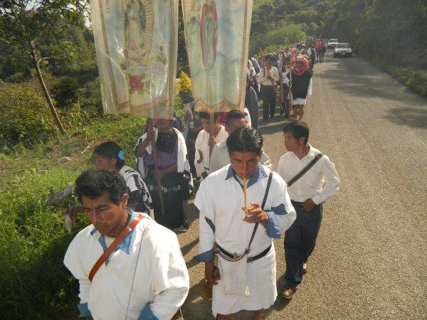 En Chenalhó católicos señalan que grupos paramilitares de 1997 se están reorganizando. Foto: Amalia Avendaño/Chiapas PARALELO