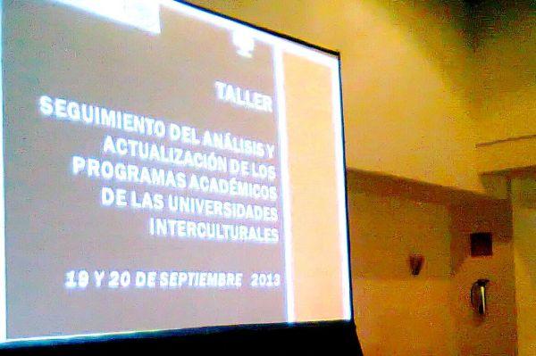 estructura curricular, funciones sustantivas del modelo educativo de las universidades interculturales y vinculación con la comunidad. Foto: Gabriela López