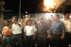 Gómez Bámaca, llama a la segunda fase de lucha magisterial en Chiapas. Foto: Isaín Mandujano/Chiapas PARALELO