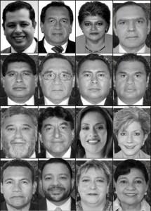 Diputados de Chiapas que aprobaron la Reforma Hacendaria