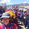 La marcha en San Cristóbal de Las Casas