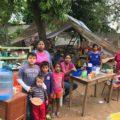 Damnificados por el sismo. Foto: Ángeles Mariscal