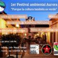 Invitan al Primer Festival Ambiental Aurora en San Cristóbal