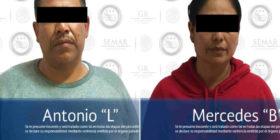 Los principales introductores de Heroína a Estados Unidos son detenidos en Chiapas. Foto: PGR.
