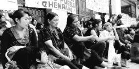 Ni diputados de Morena atendieron a desplazados   Foto Escuela Normal Rural Mactumatzá