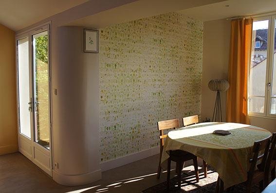 Pose de papier peint Salle à manger