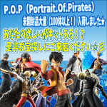 P.O.P(Portrait.Of.Pirates)超大量入荷!