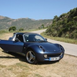 My roadster in Corsica