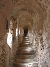 Un escalier des remparts.