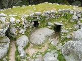 L'intérieur du château vu du plus haut point.