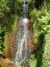 Une petite cascade au coeur du haut village de Cuttoli.